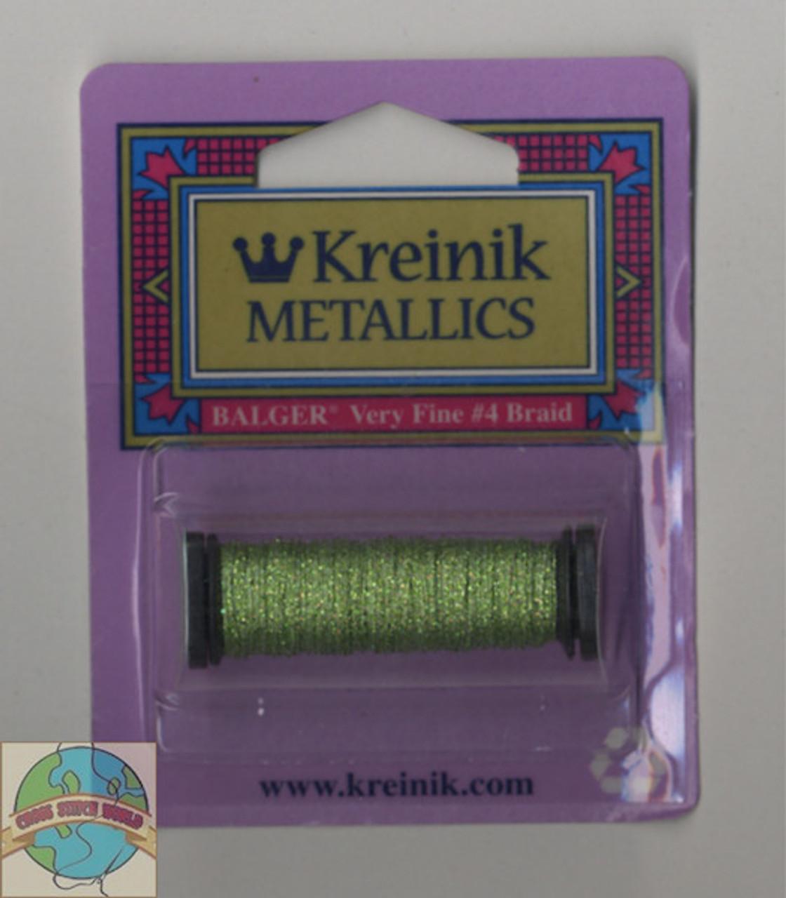Kreinik Metallics - Very Fine #4 Peridot #3215