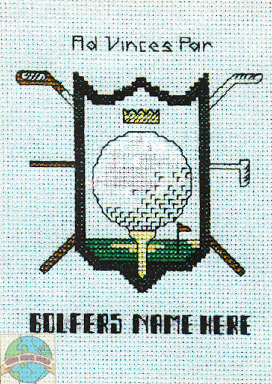 Hilite Designs - Golfers Coat of Arms