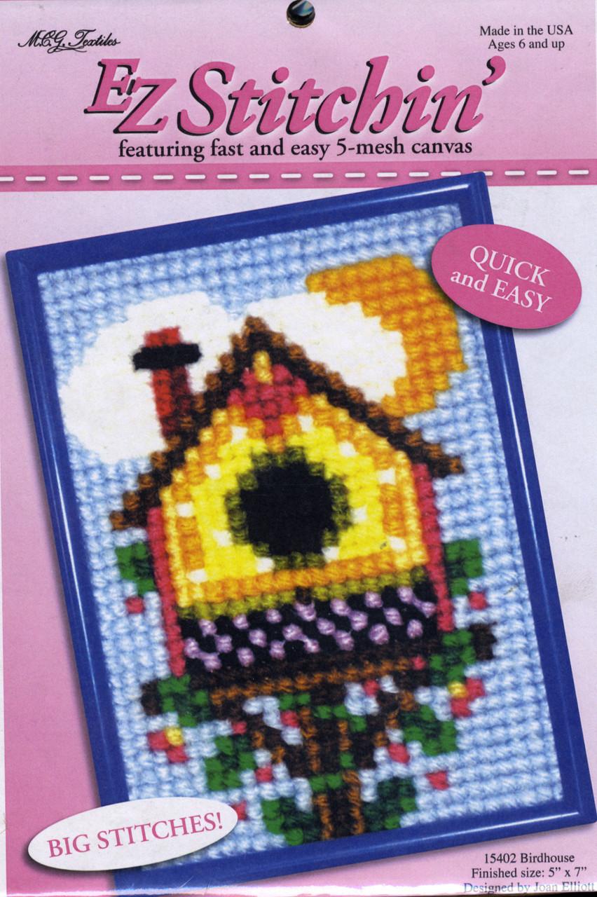 Candamar EZ Stitchin' - Birdhouse