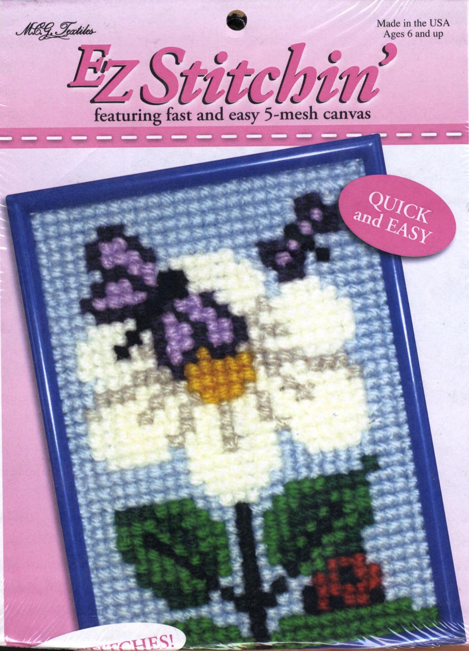 Candamar EZ Stitchin' - Bug & Blossom