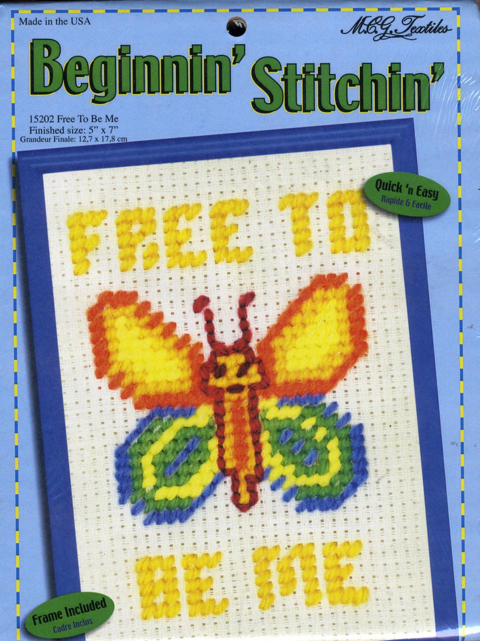 Candamar Beginnin' Stitchin' - Free To Be Me