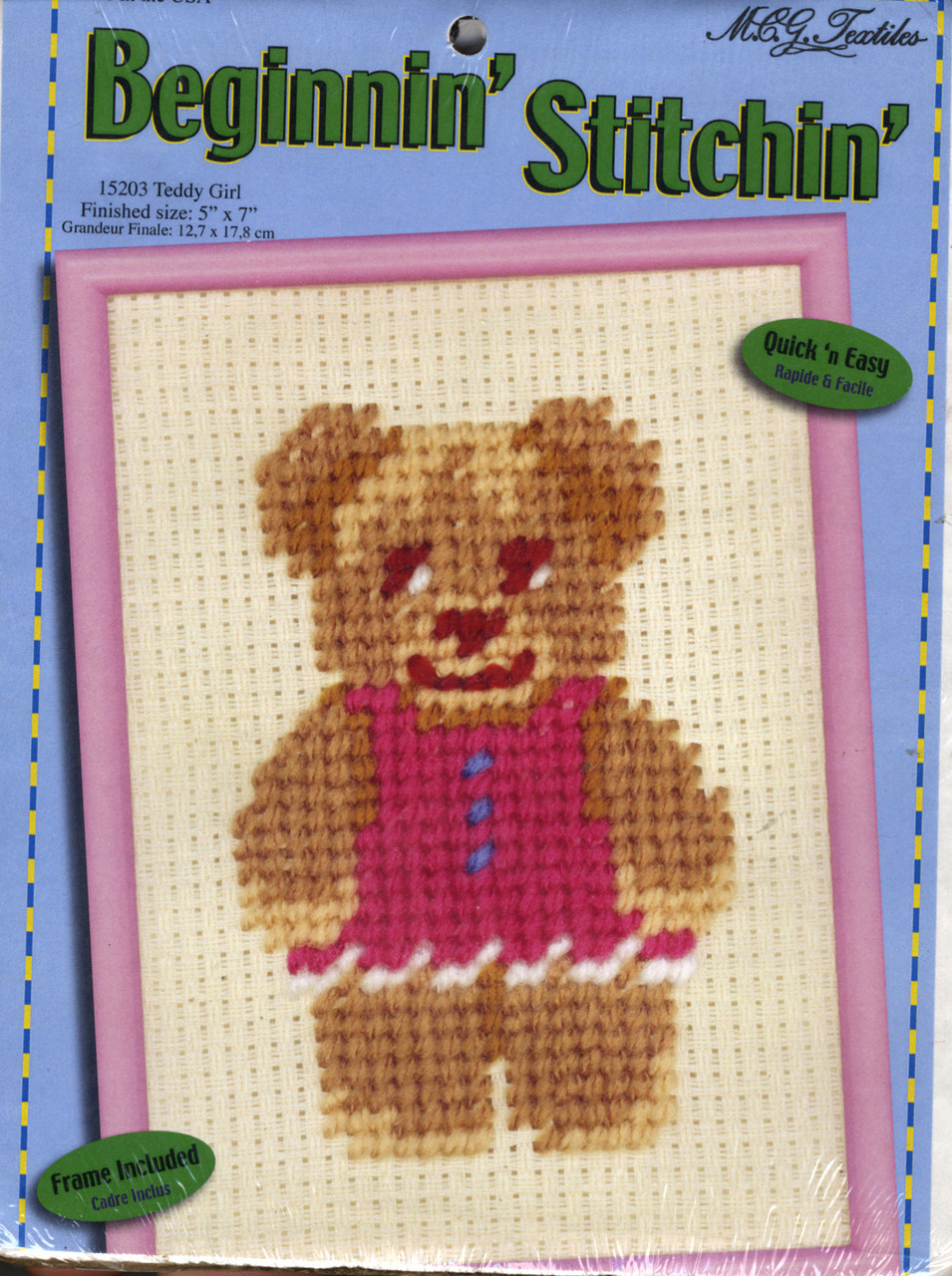 Candamar Beginnin' Stitchin' - Teddy Girl