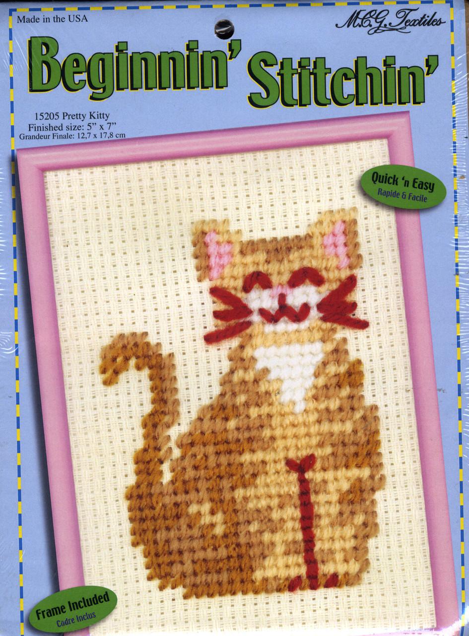 Candamar Beginnin' Stitchin' - Pretty Kitty