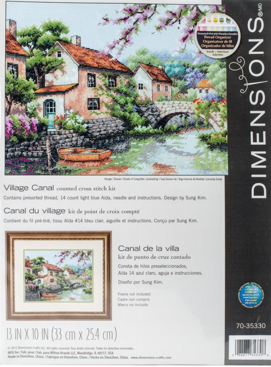 Dimensions - Village Canal