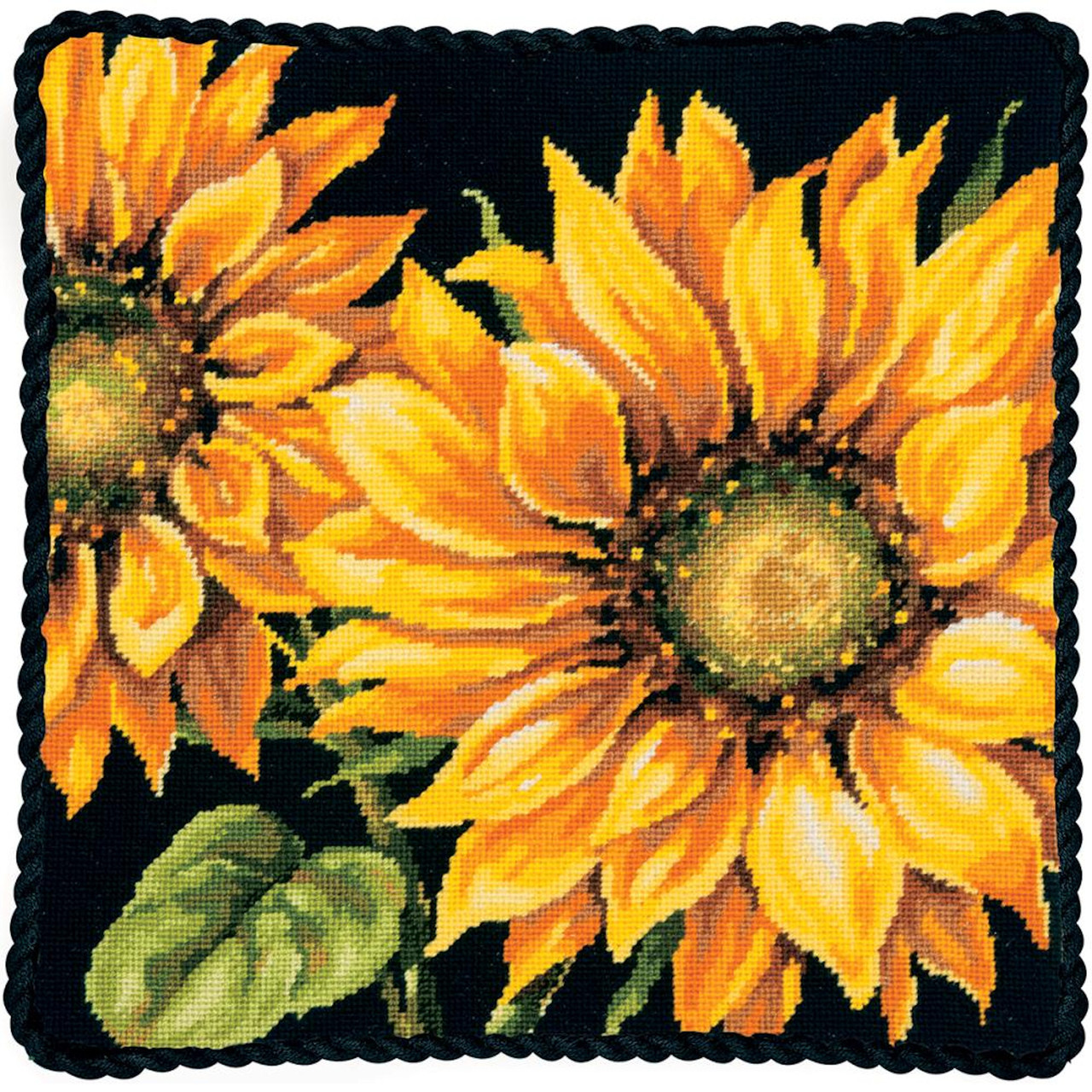 Dimensions - Dramatic Sunflower