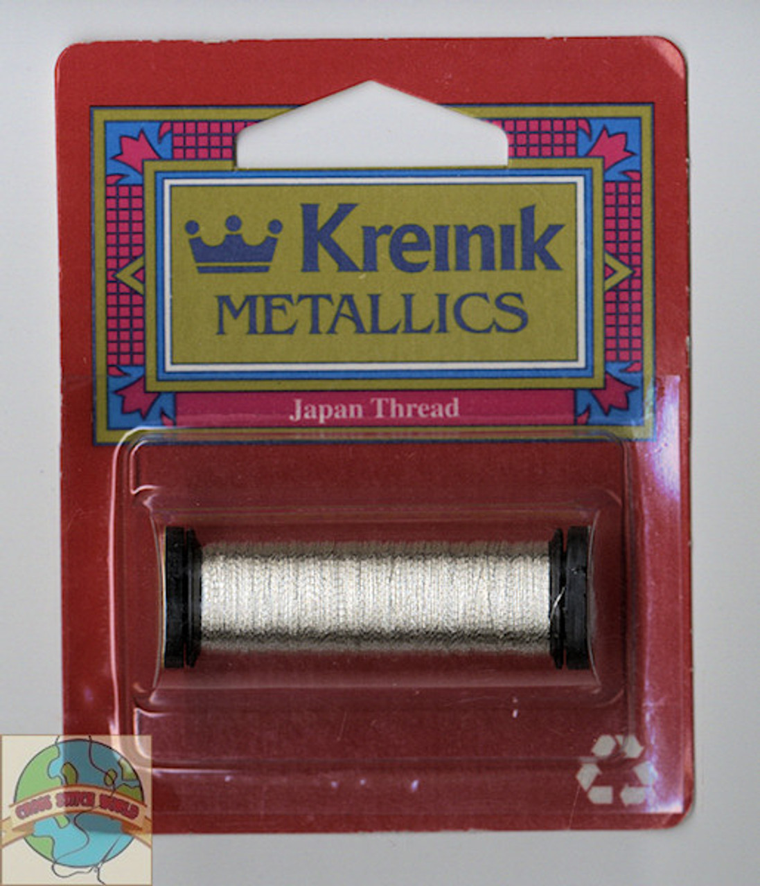 Kreinik Metallic - Super Fine #1 Japan Silver 001J