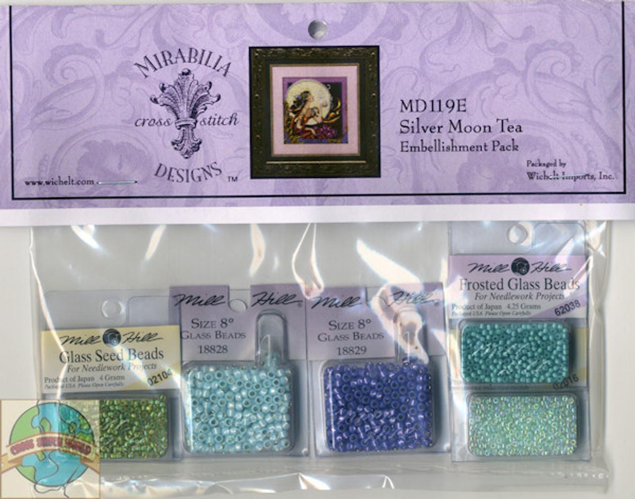 Mirabilia Embellishment Pack - Silver Moon Tea