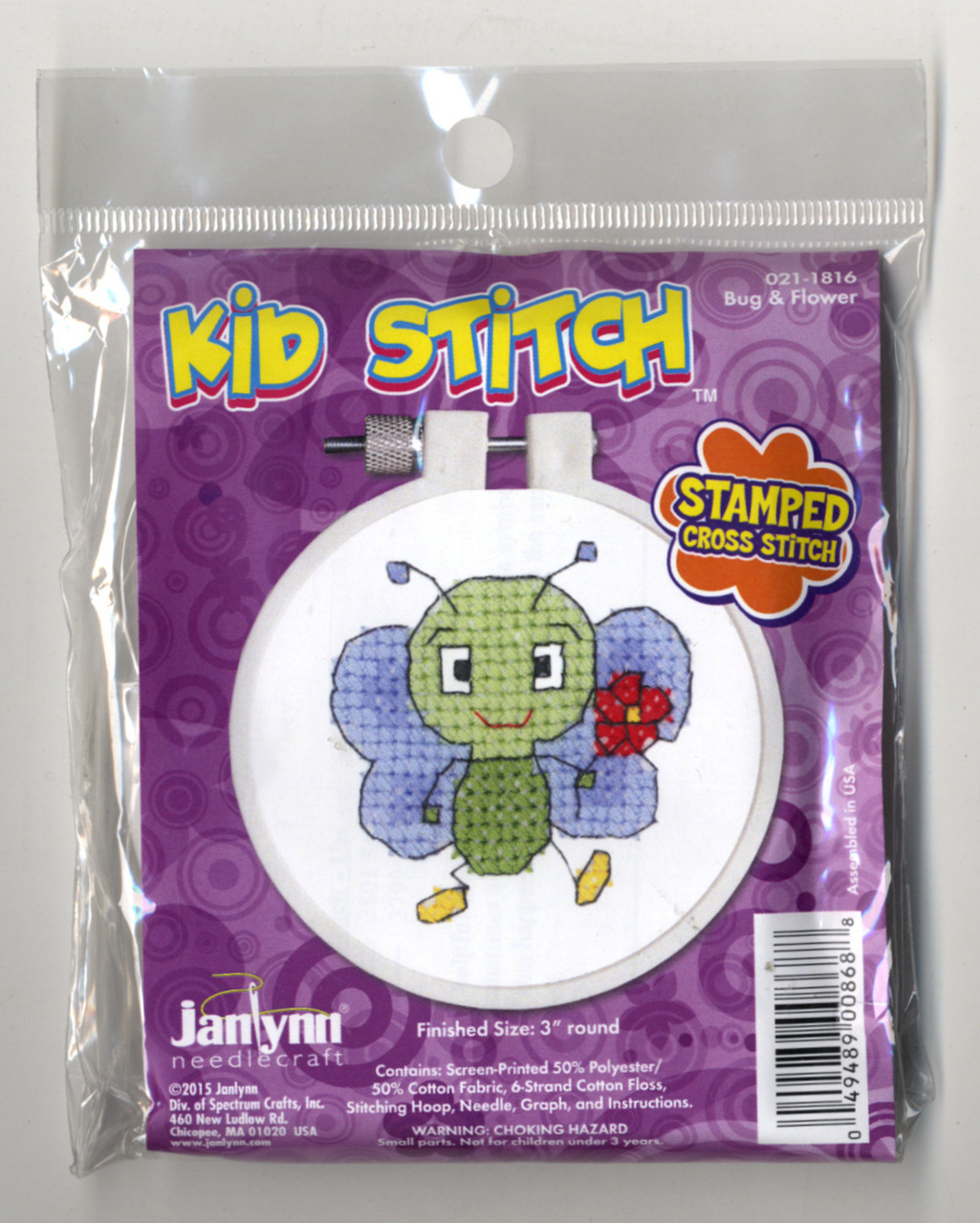 Kid Stitch - Bug & Flower
