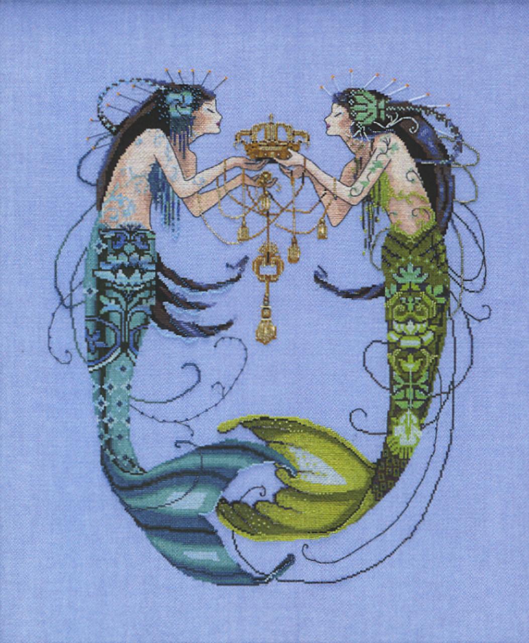 Mirabilia Embellishment Pack - The Twin Mermaids