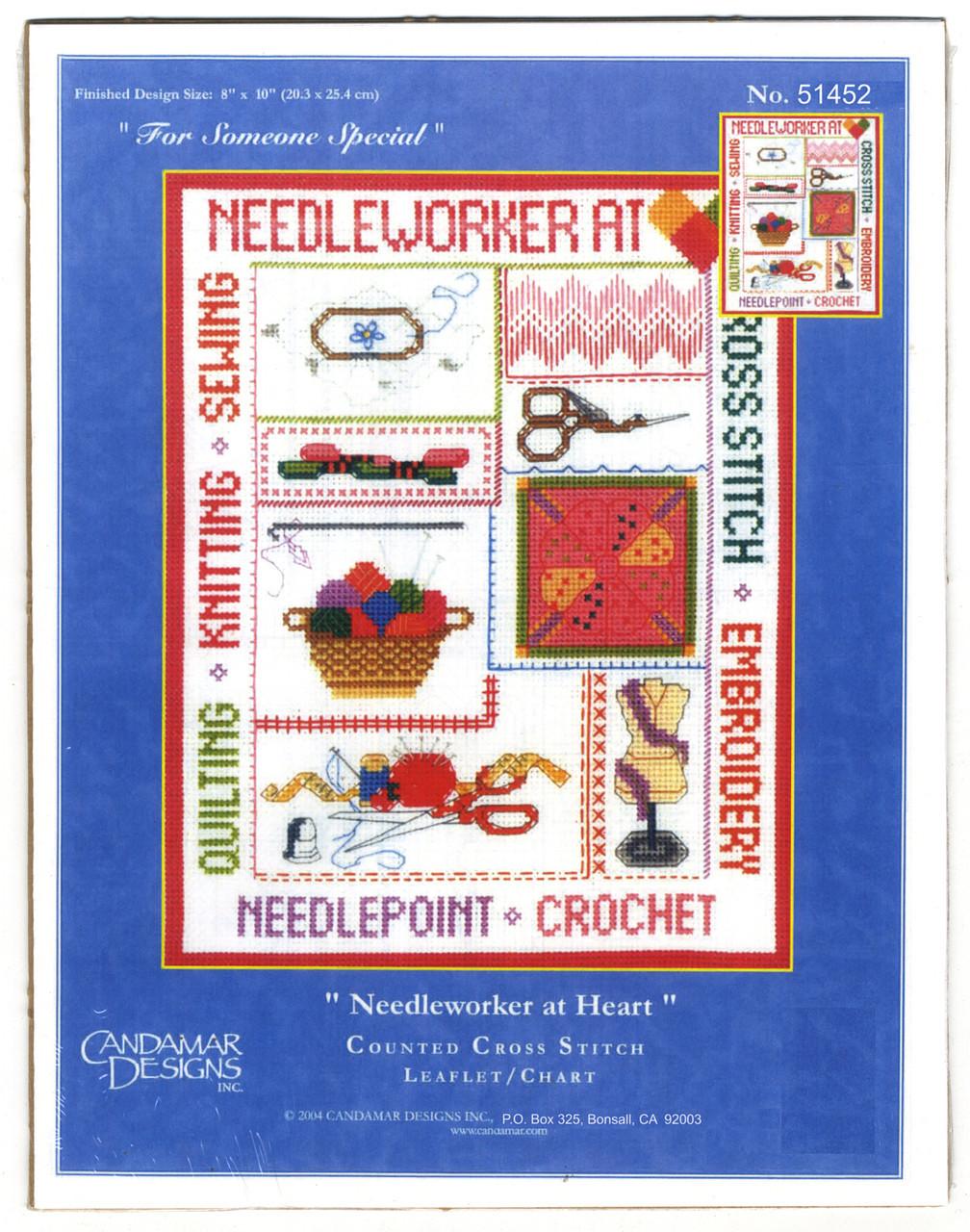 Candamar - Needleworker at Heart Chart Pack