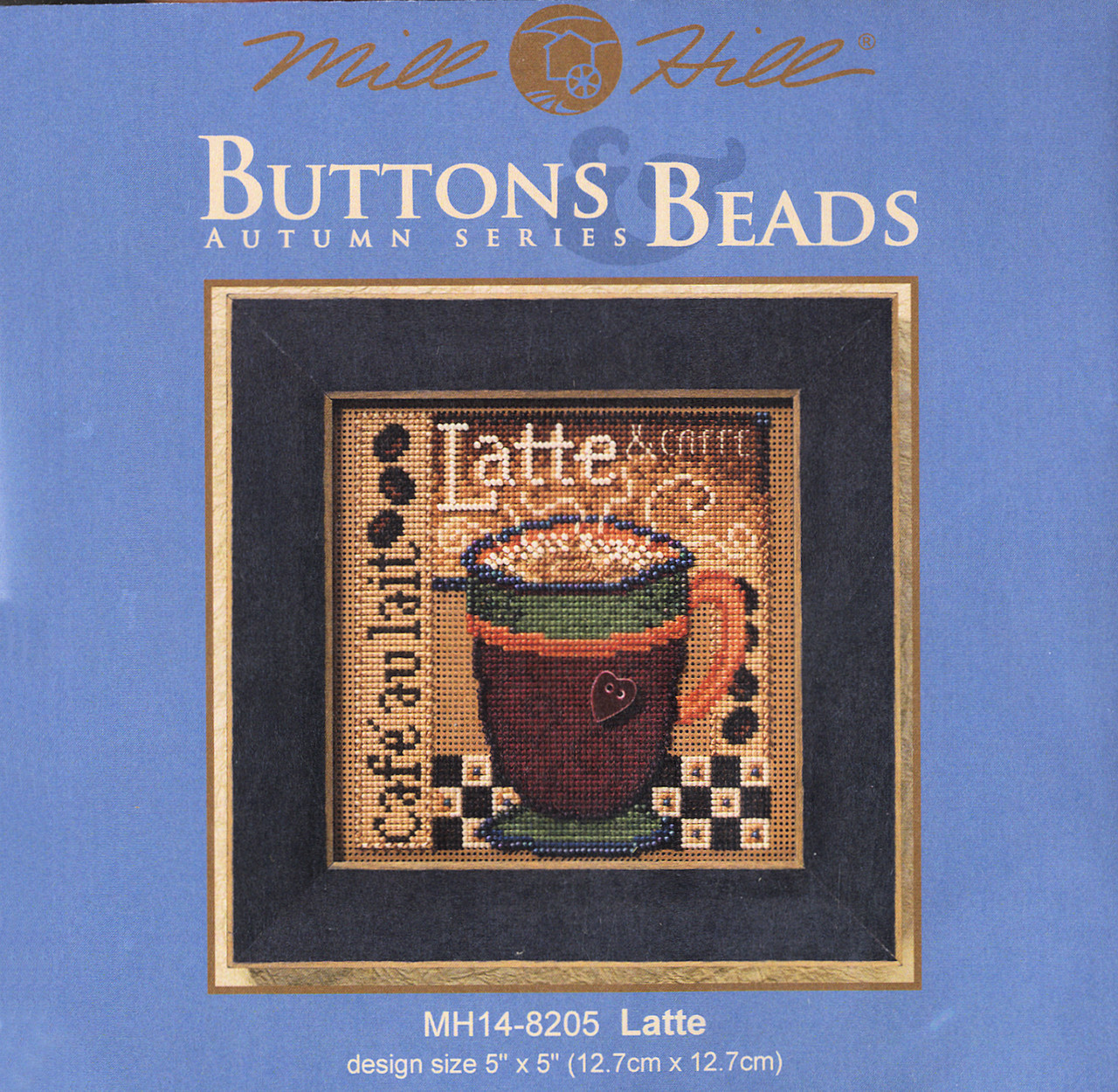 2008 Mill Hill Buttons & Beads Autumn Series- Latte