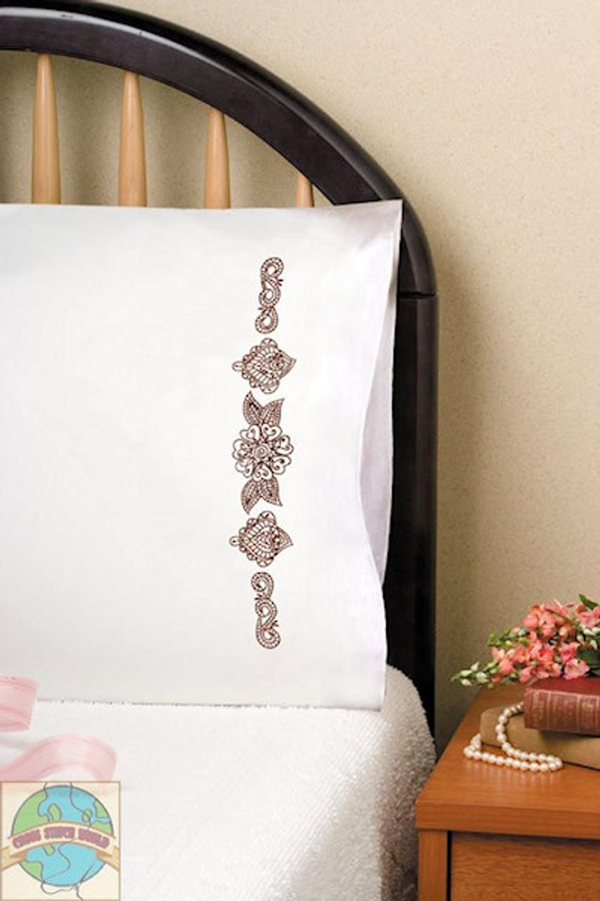 Design Works - Henna Pillowcases (2)