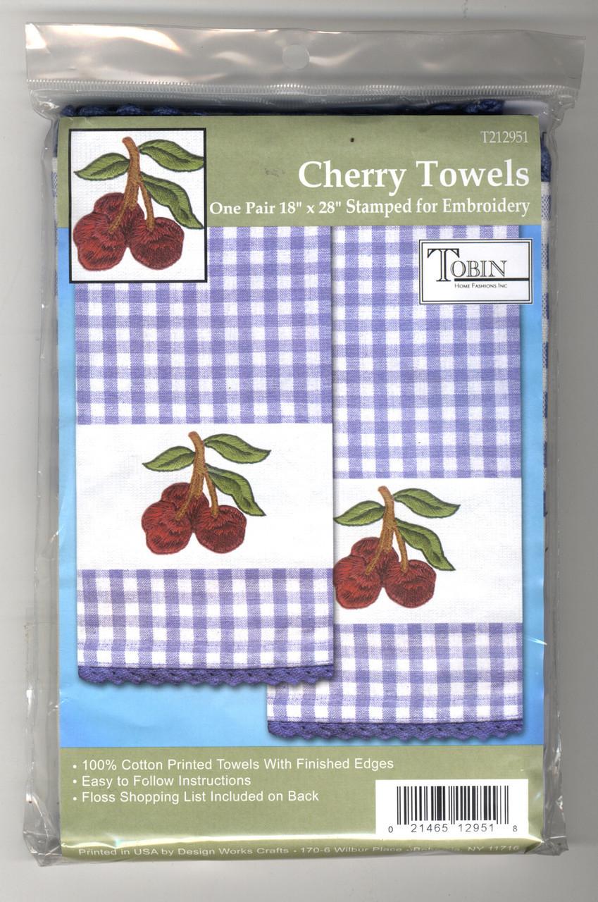Design Works - Cherry Towels (2)