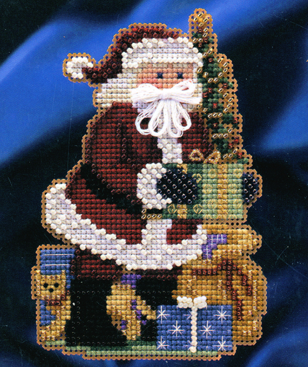 Mill Hill Celebration Santa  Merry Christmas Santa