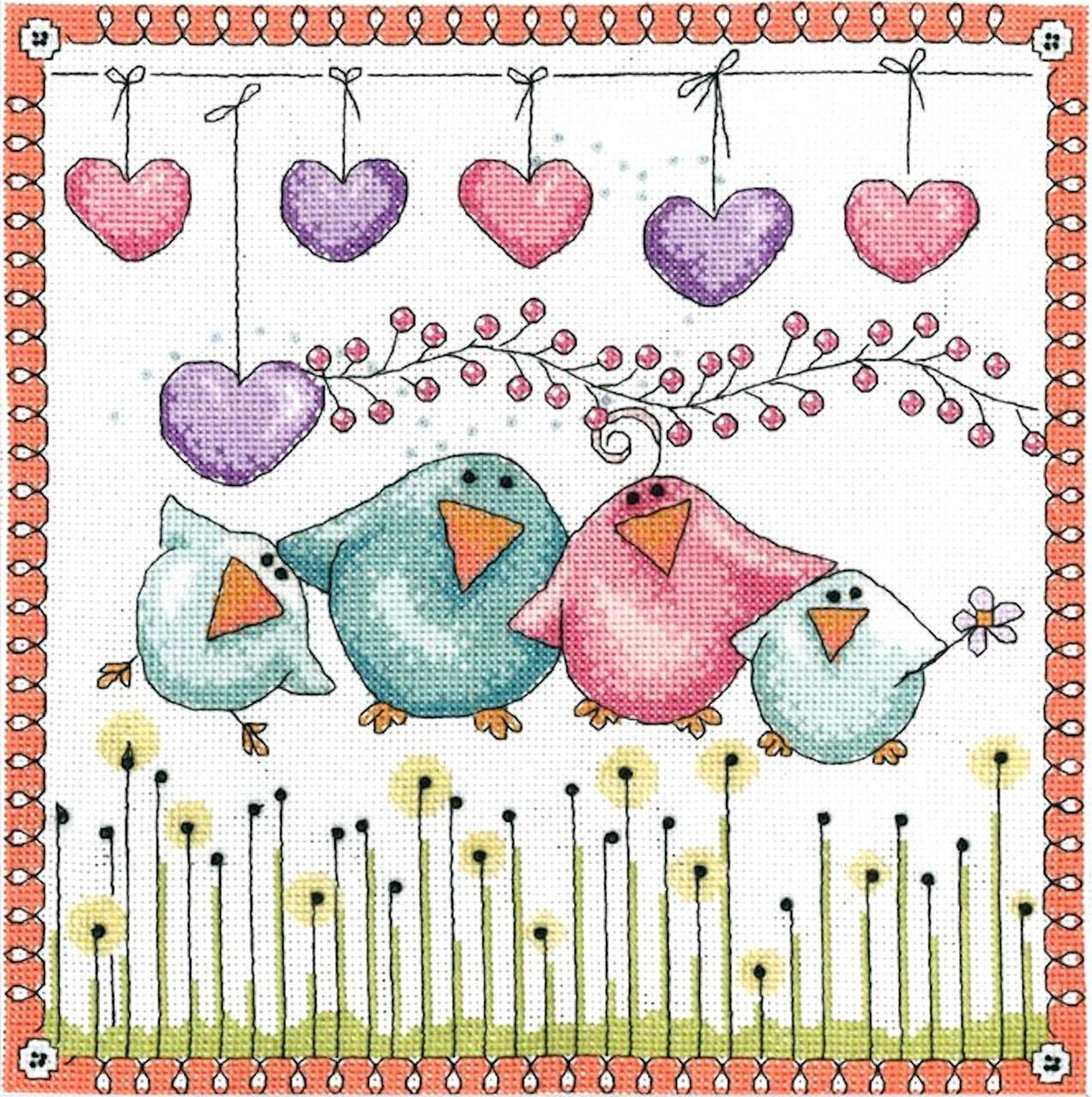 Design Works - Bird Family