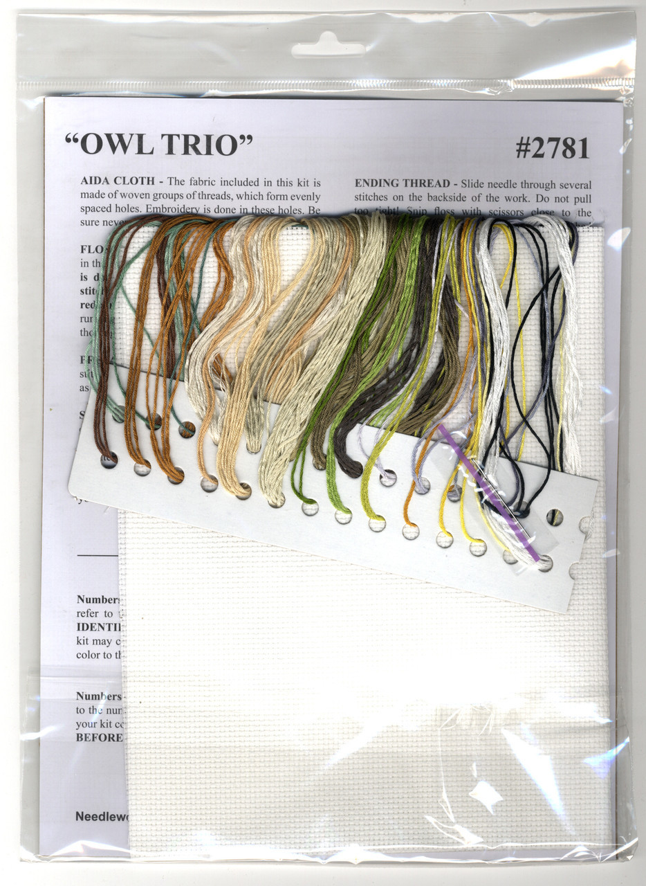 Design Works - Owl Trio