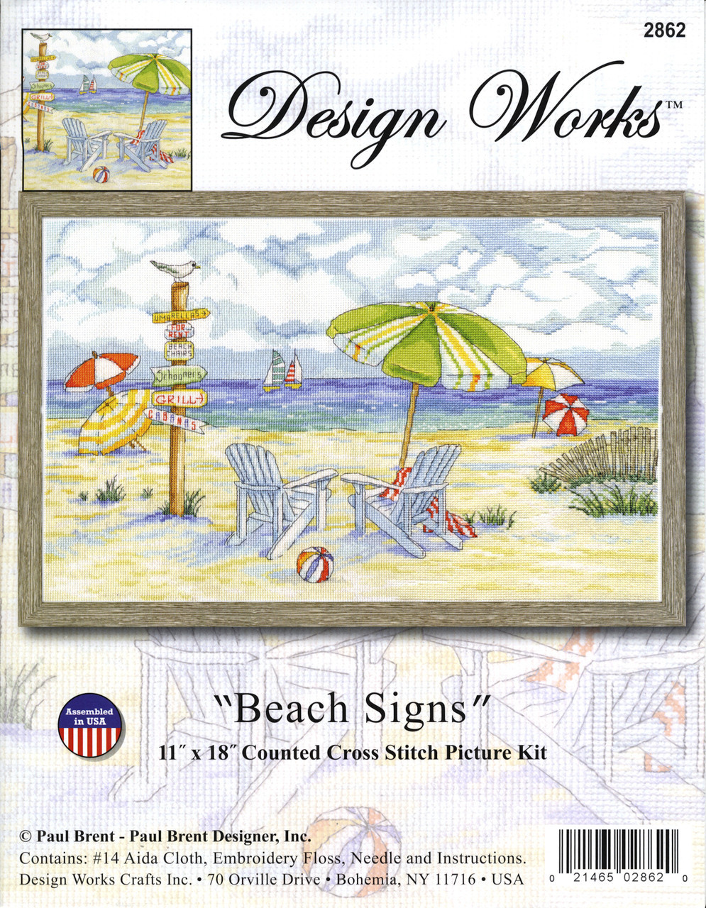 Design Works - Beach Signs