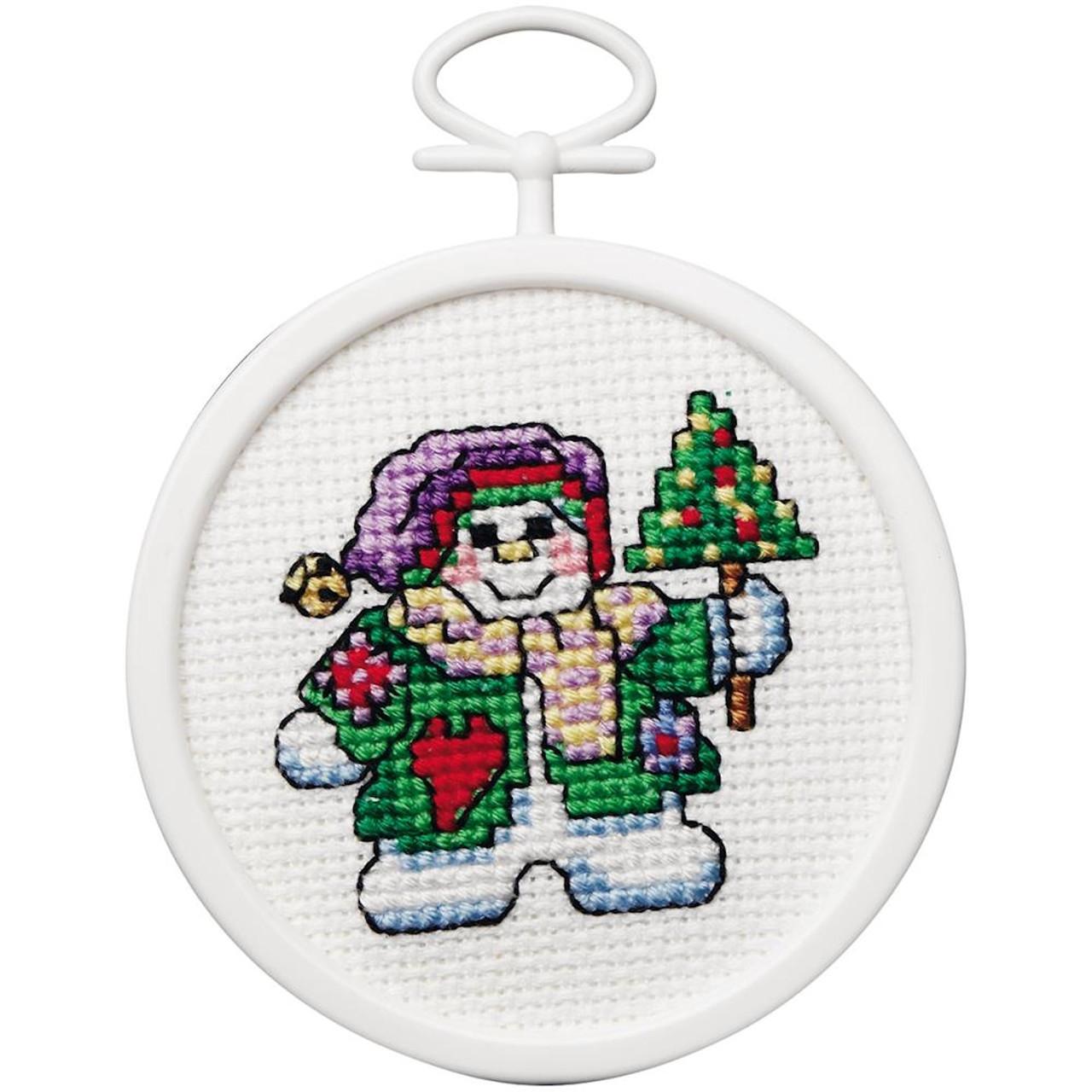 Janlynn Mini - Patchwork Snowman
