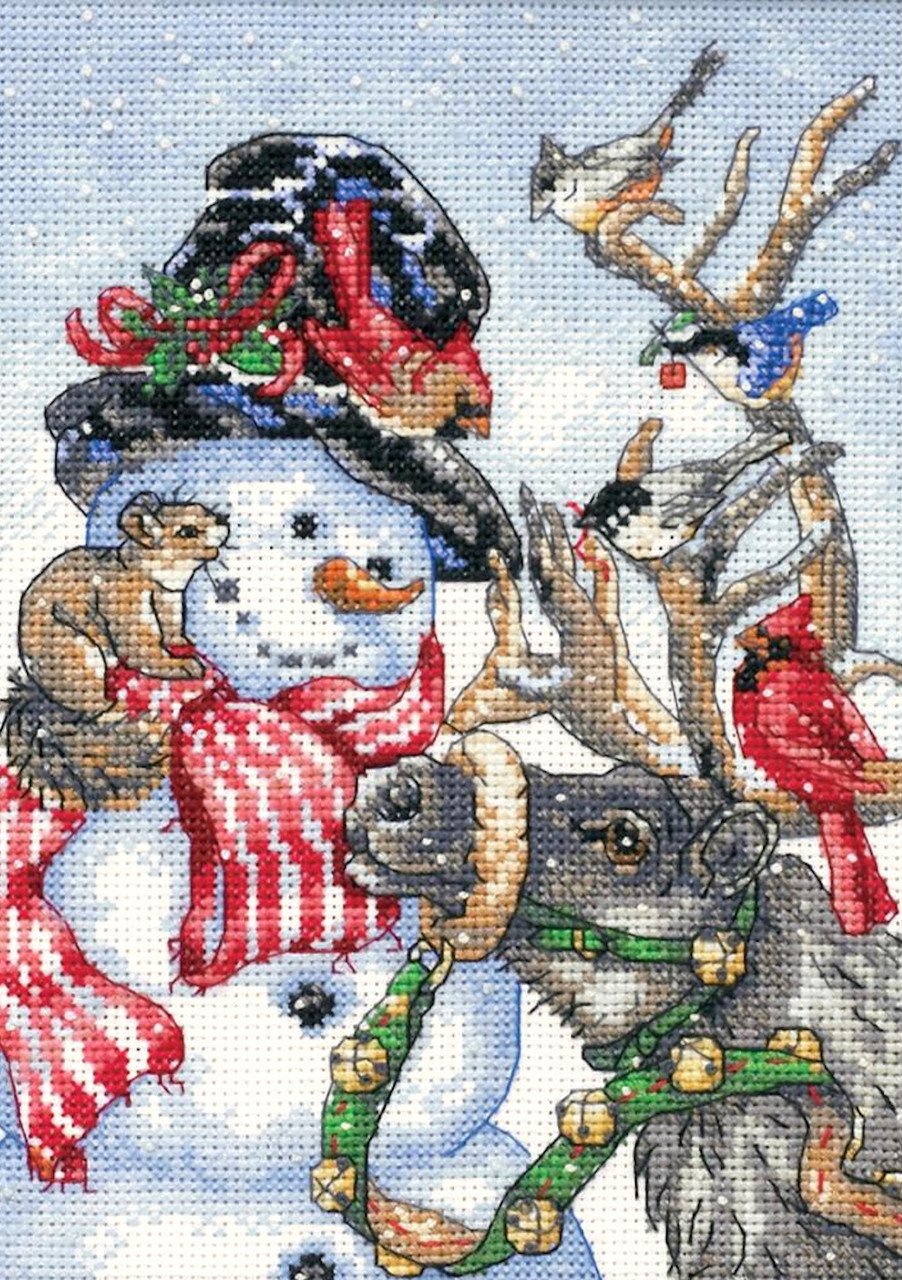 Dimensions Gold Collection - Snowman and Reindeer