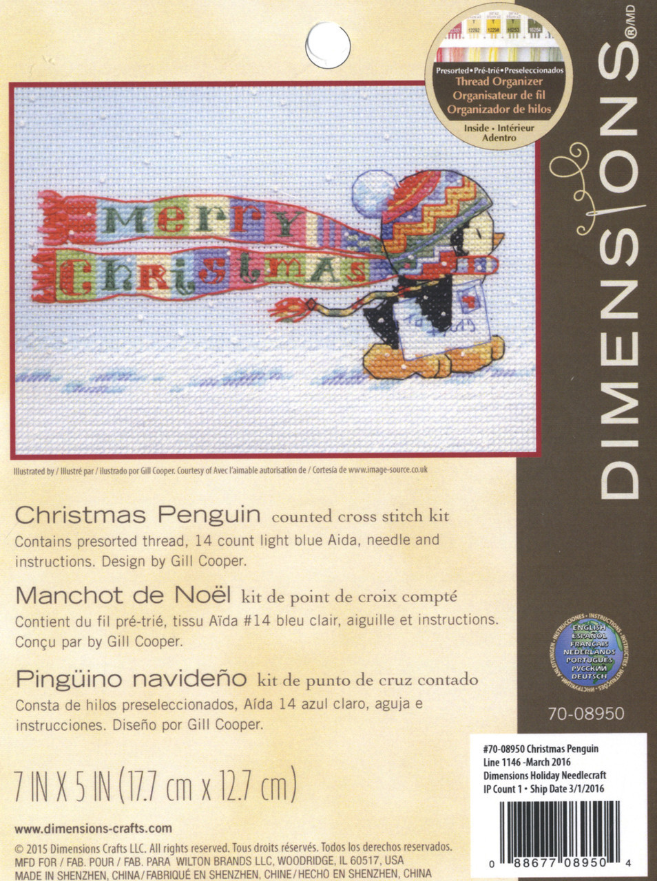 Dimensions - Christmas Penguin