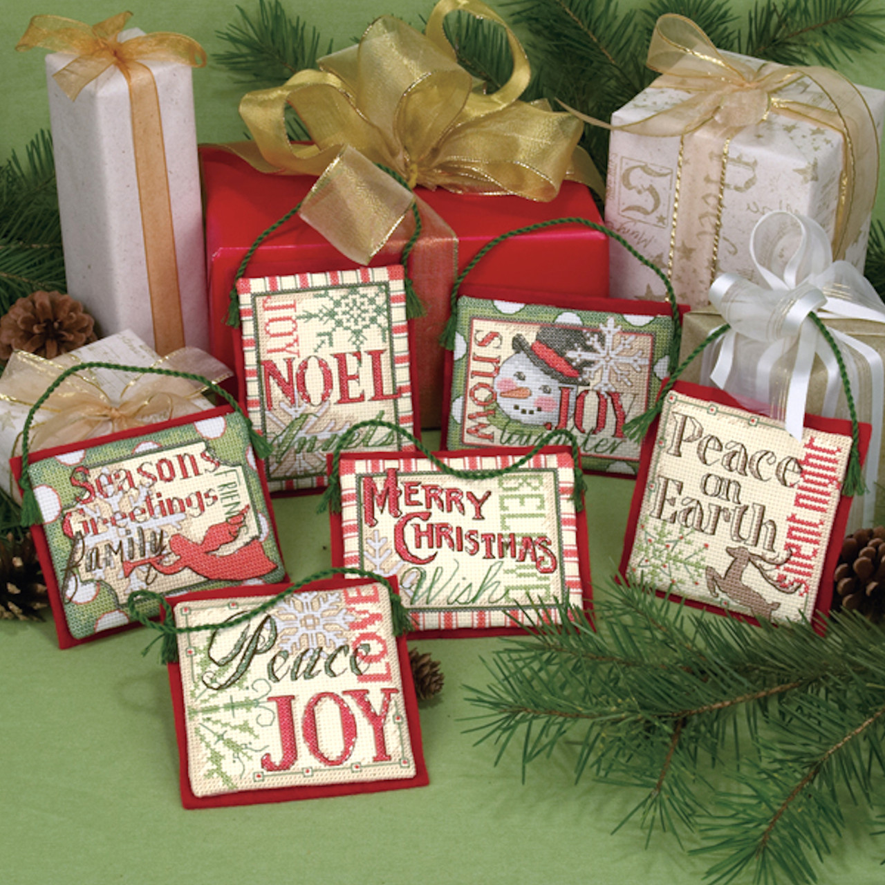 Dimensions - Christmas Sayings Ornaments