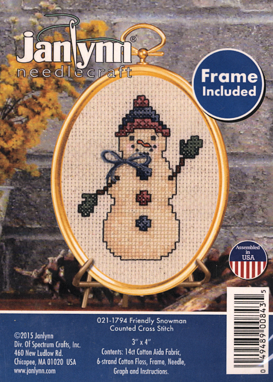 Janlynn - Friendly Snowman