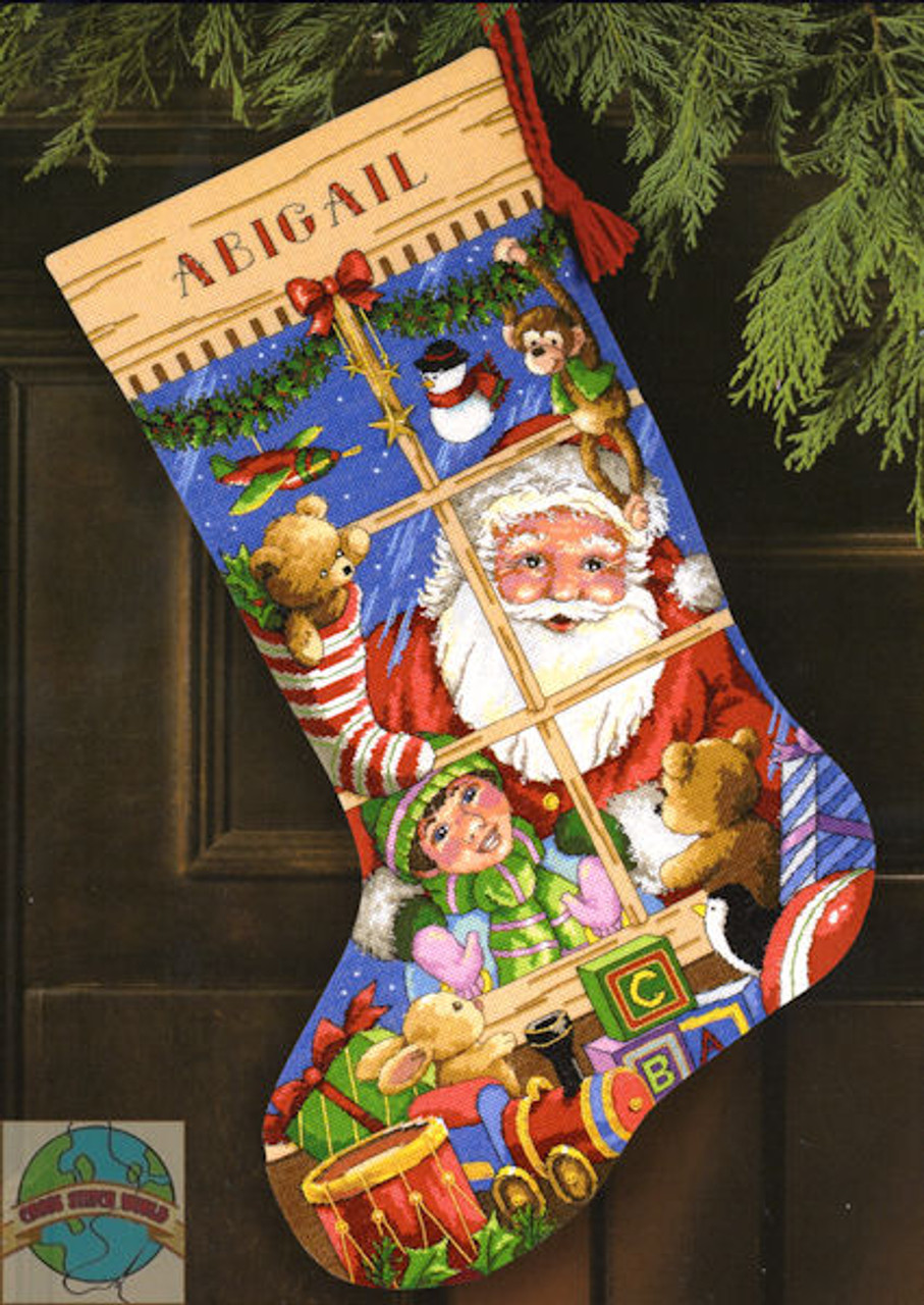 Gold Collection - Santa's Toys Stocking