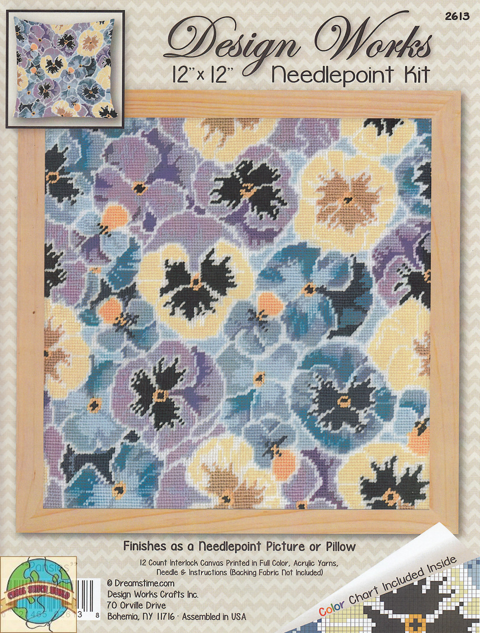 Design Works - Pansies Floral