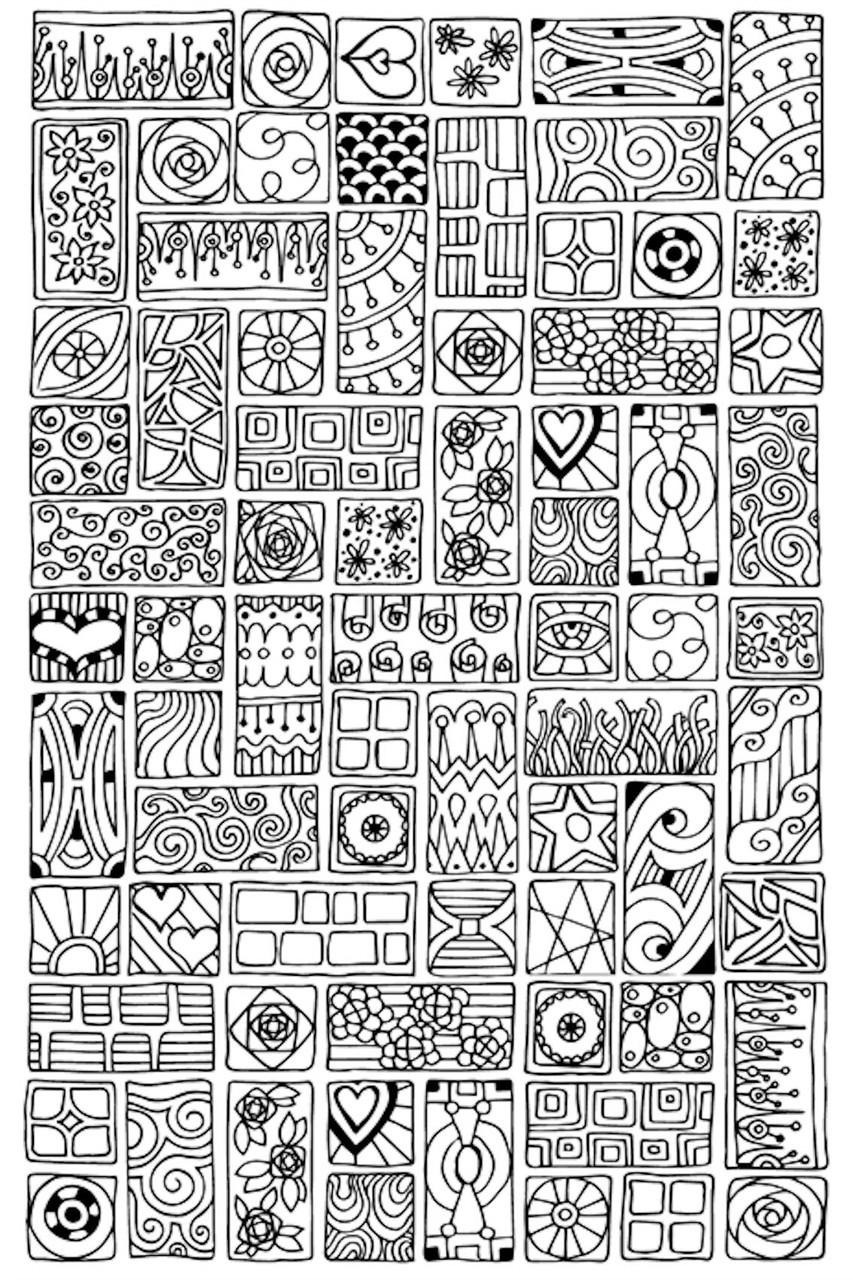 "Design Works - Zenbroidery Cubist 10"" x 16"""