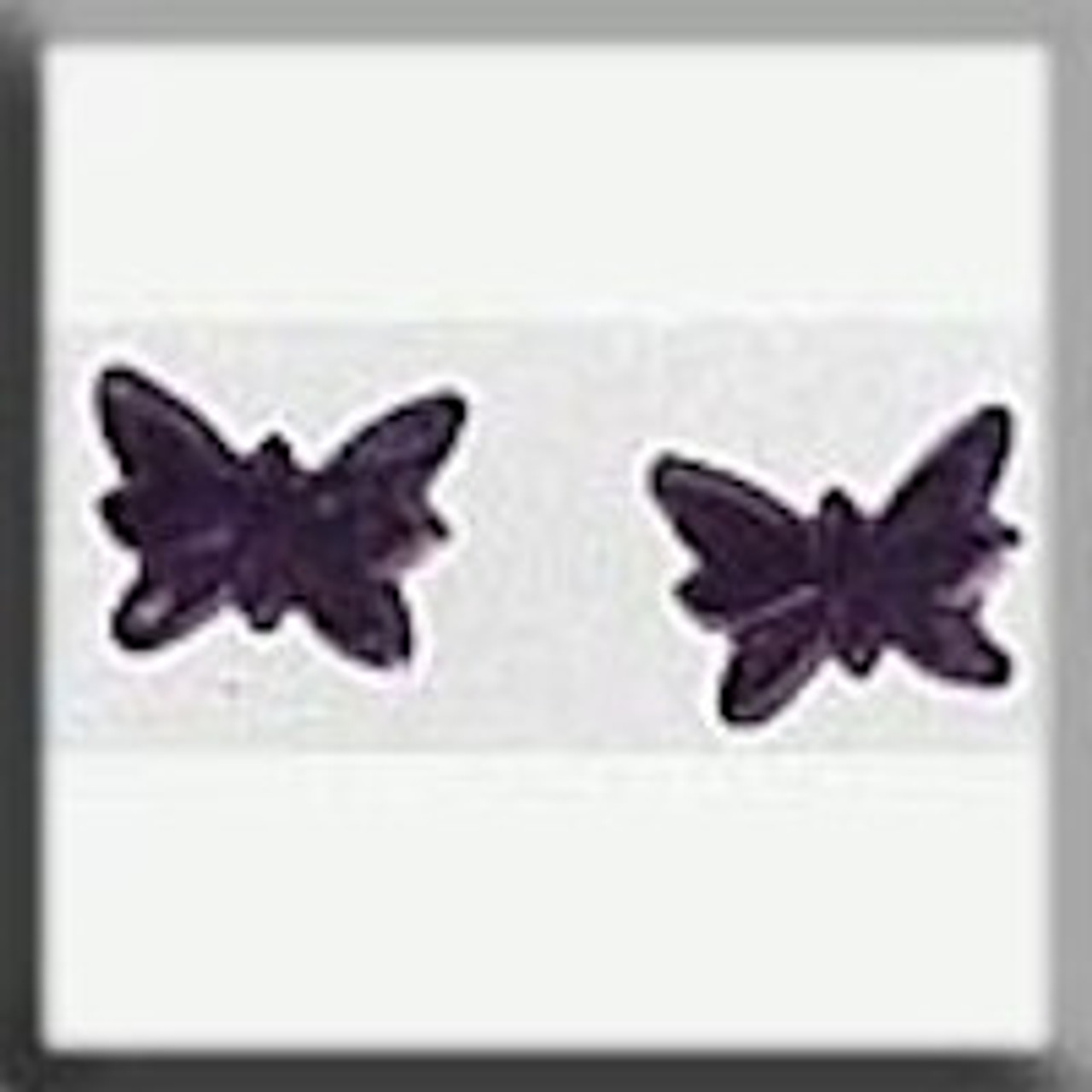 Mill Hill Glass Treasures - Petite Butterfly Matte Light Amethyst #12124