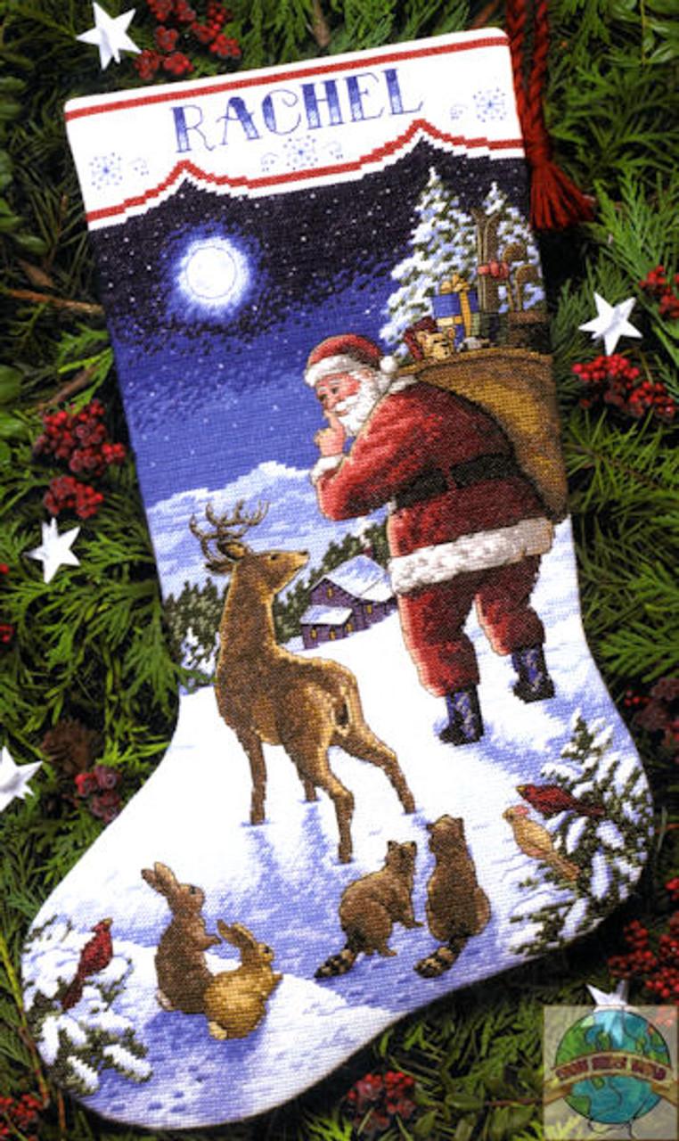 Dimensions - Santa's Arrival Stocking
