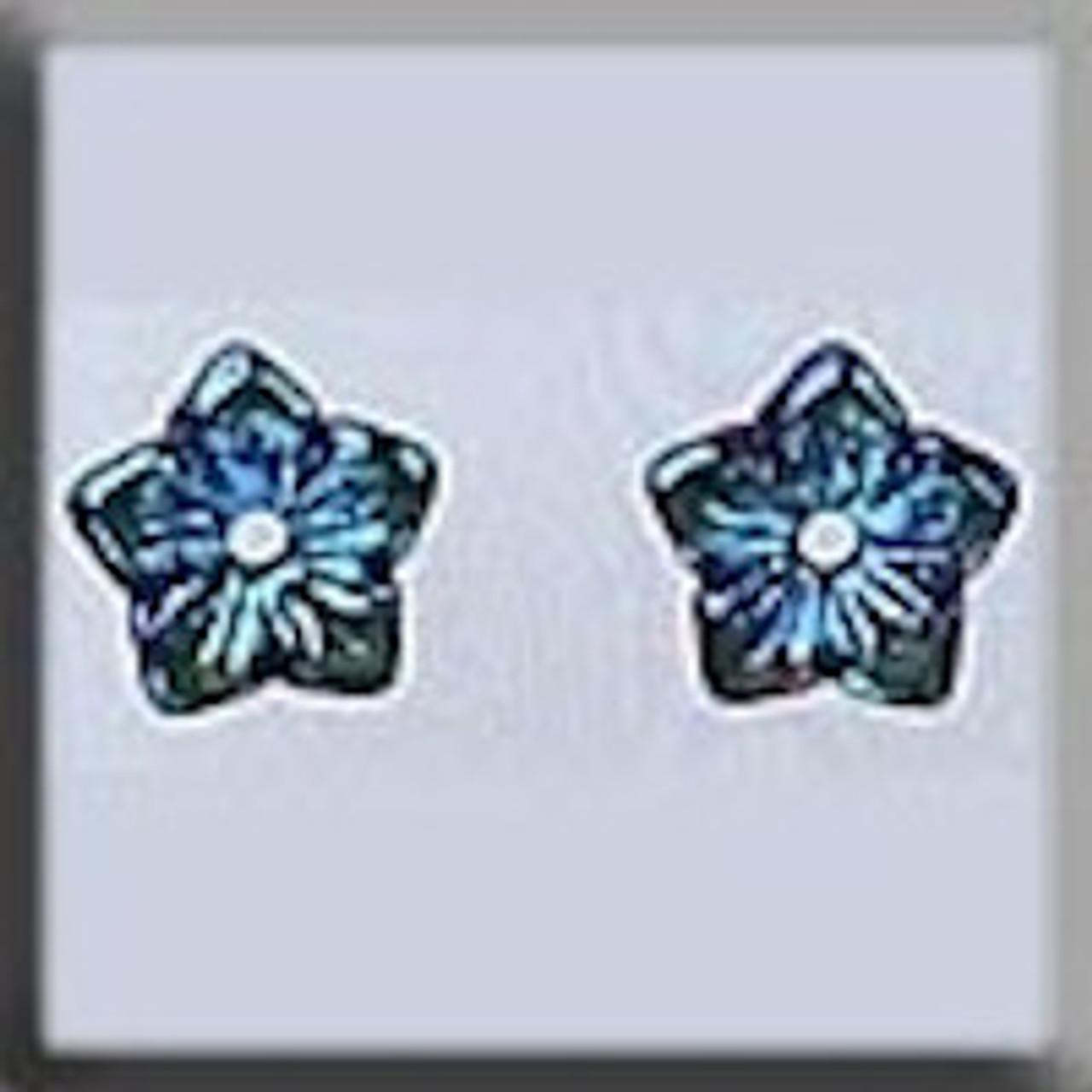 Mill Hill Glass Treasures - Jasmine Flower Light Rose AB #12224
