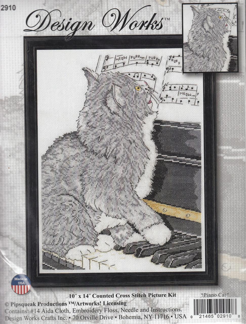 Design Works - Piano Cat
