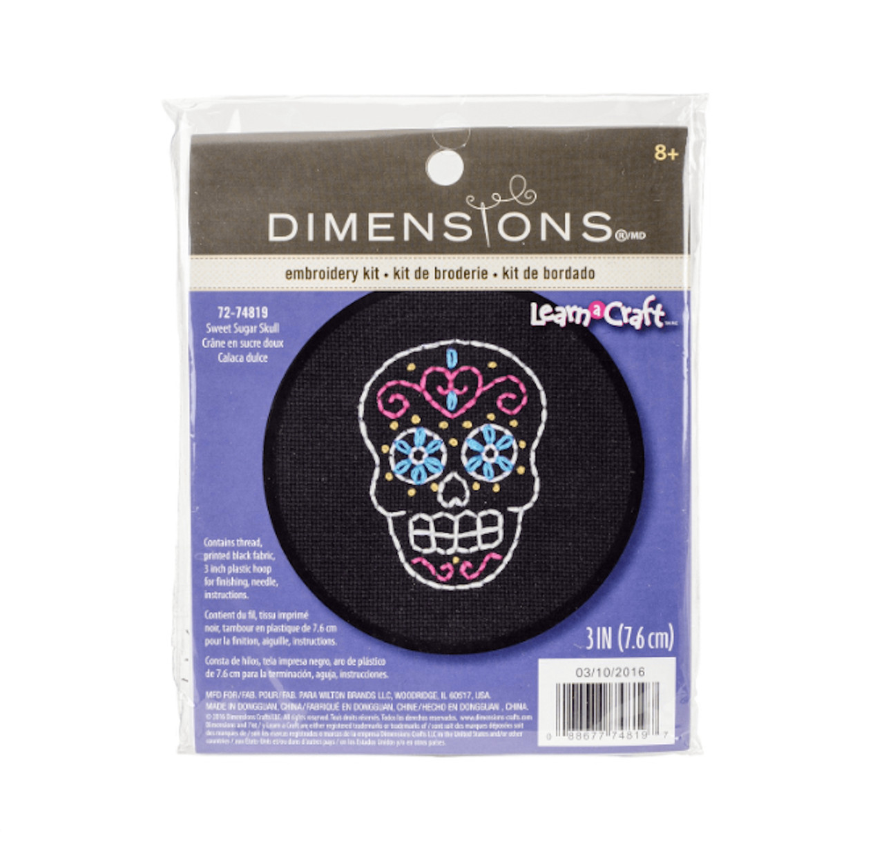 Dimensions Learn-a-Craft - Sweet Sugar Skull
