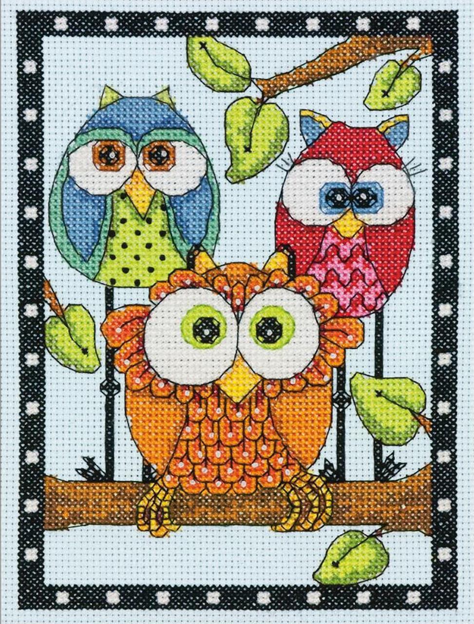 Dimensions Mini - Owl Trio