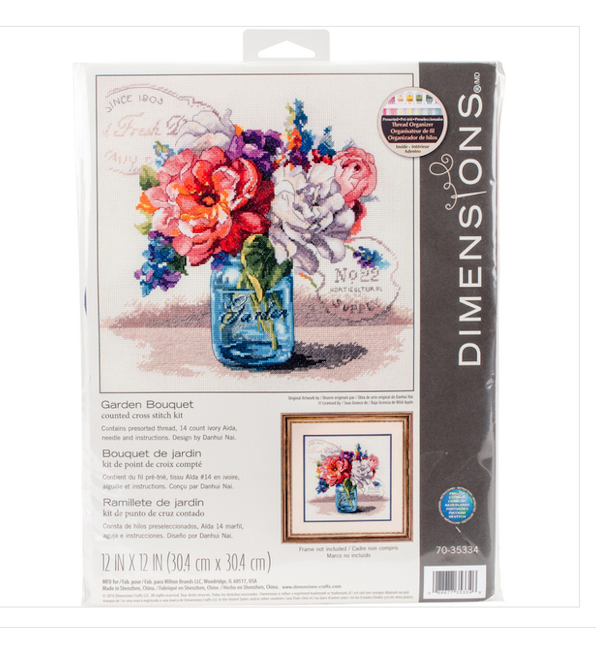 Dimensions - Garden Bouquet