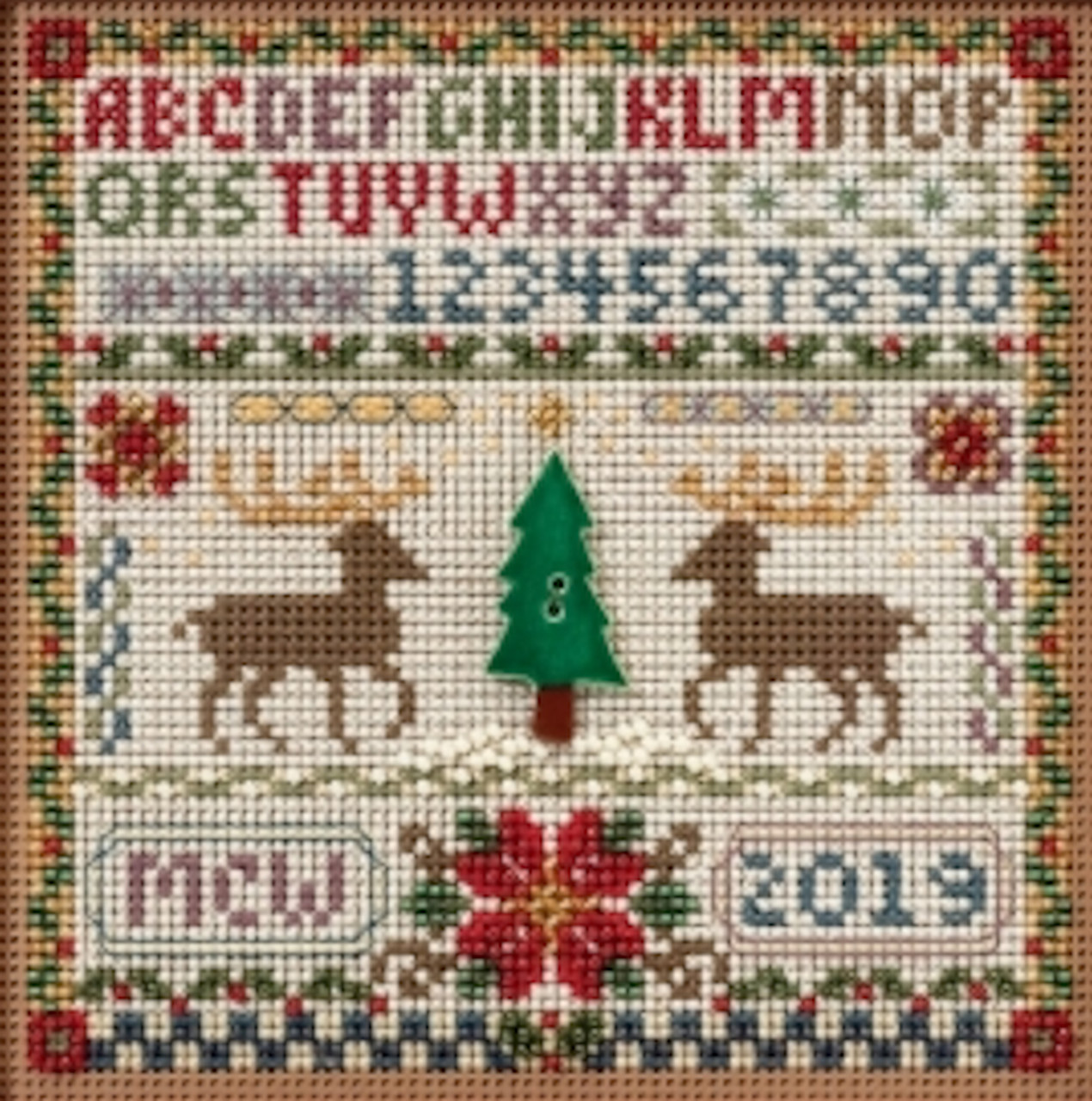 MILL HILL Buttons /& Beads Counted Cross Stitch Kit MH14-1633 HOLIDAY SAMPLER