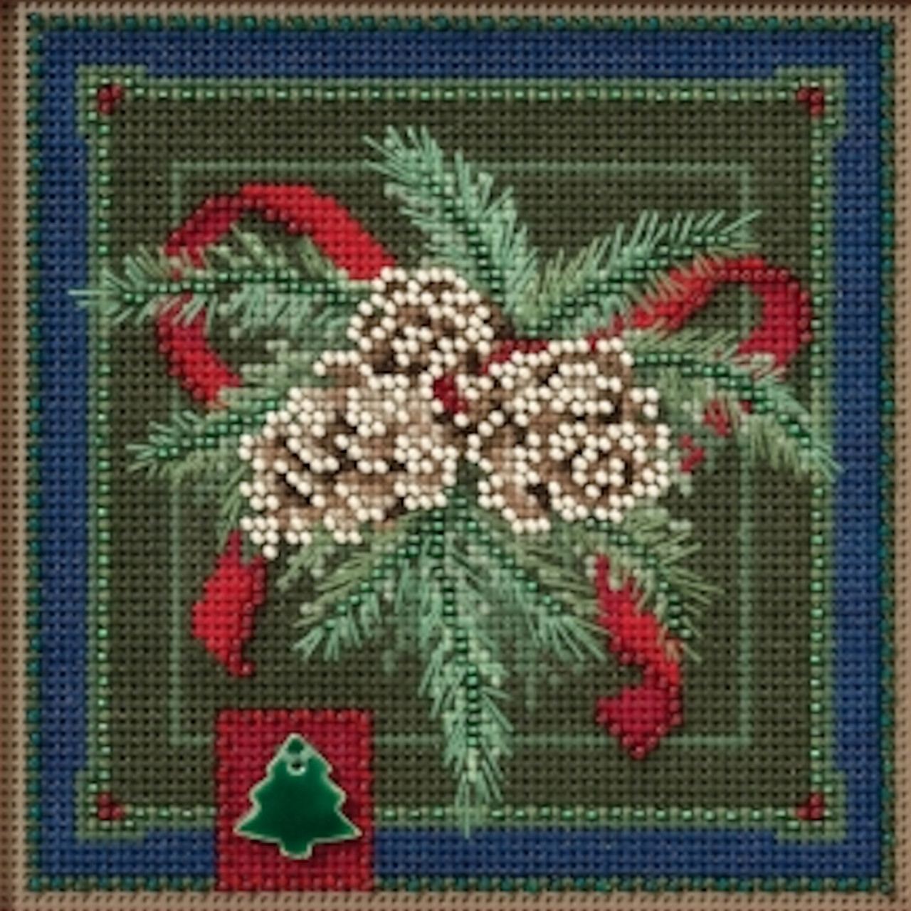 2016 Mill Hill Buttons & Beads Winter Series - Festive Pine