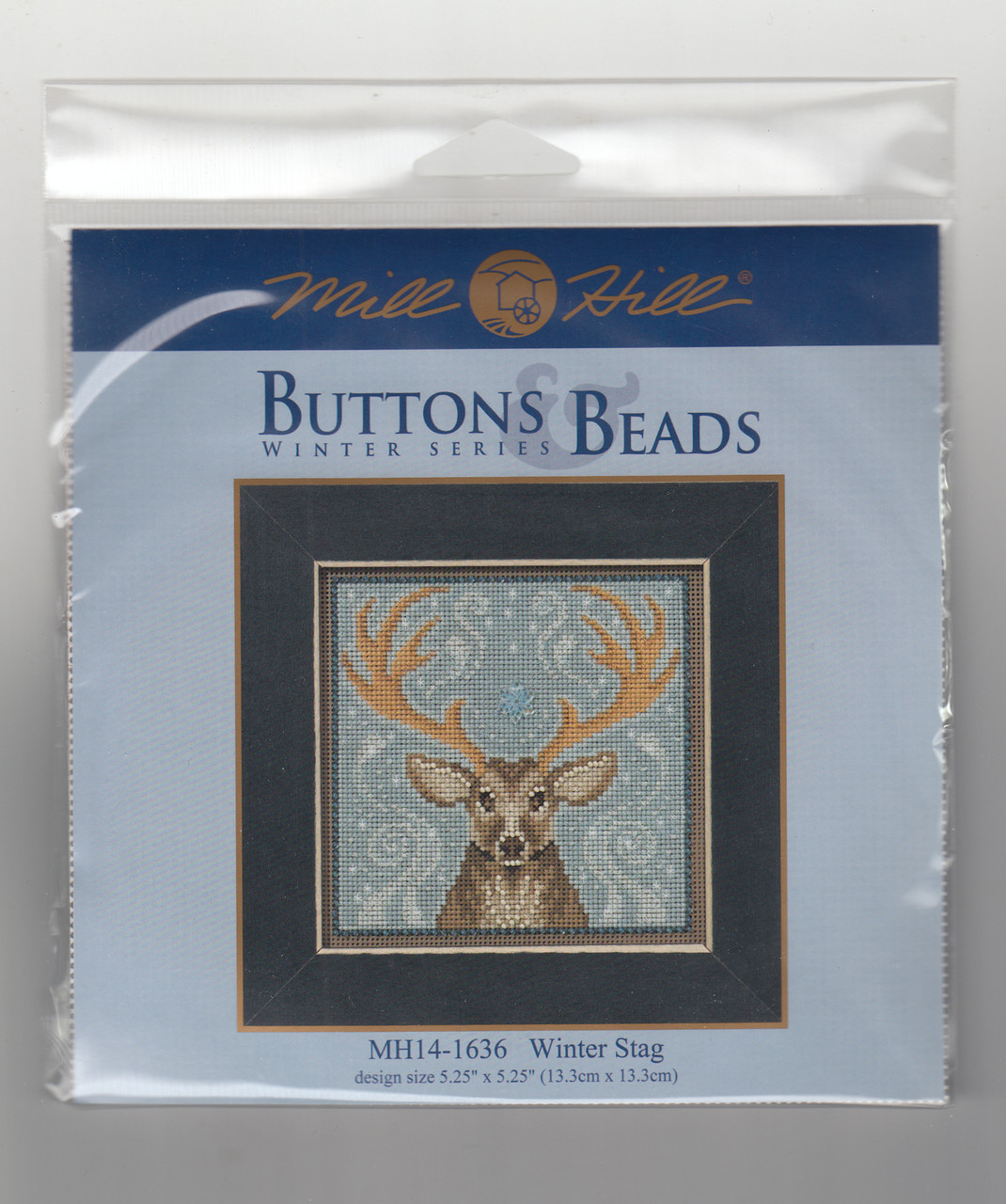 2016 Mill Hill Buttons & Beads Winter Series - Winter Stag