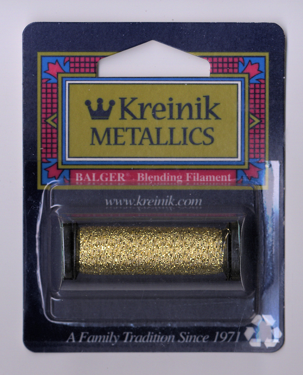 Kreinik Metallics Blending Filament - Gold 002