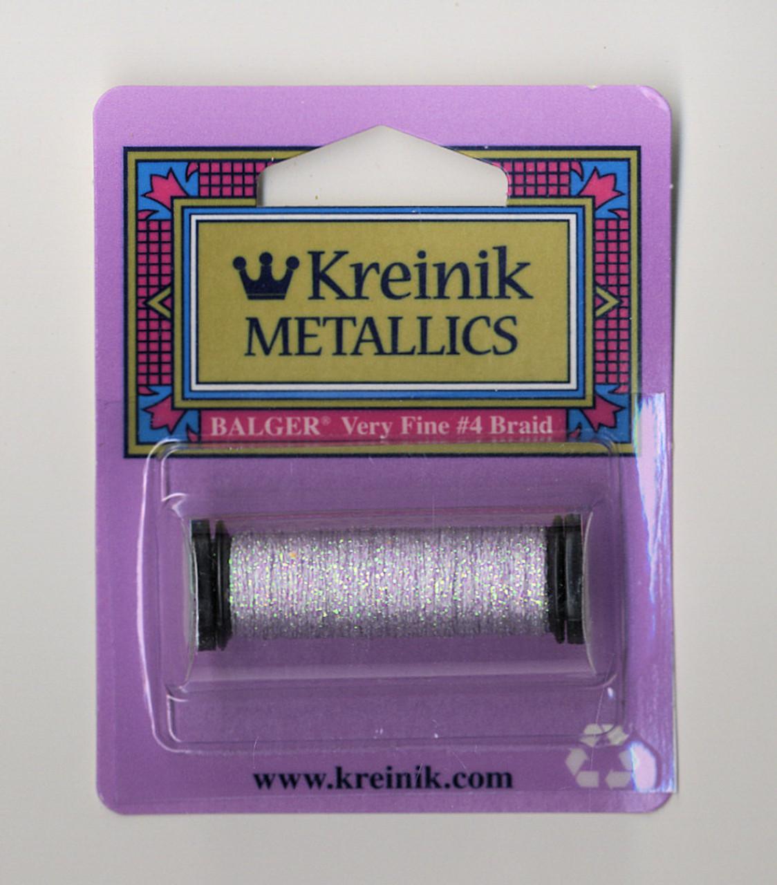 Kreinik Metallics - Very Fine #4 Star Mauve 093