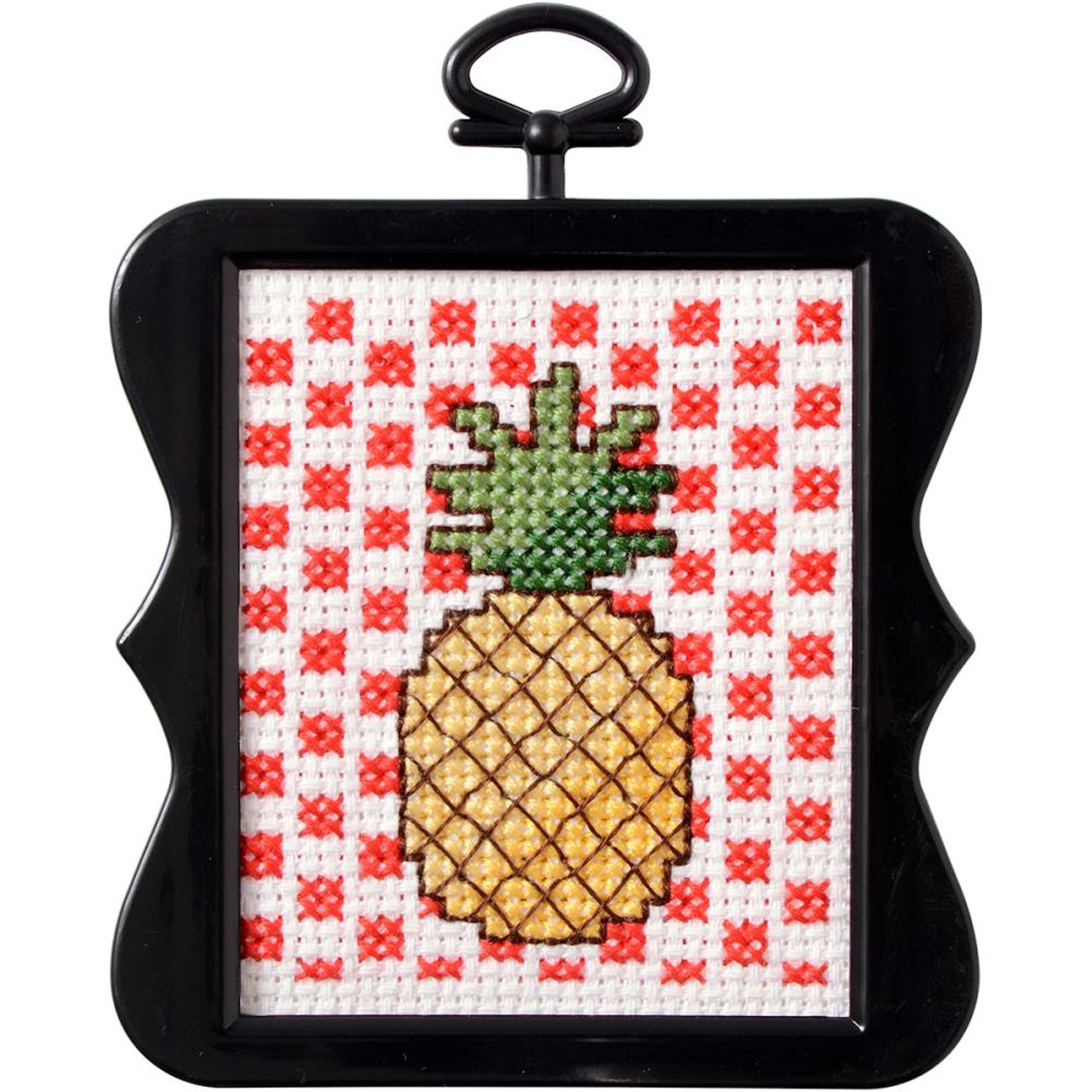 Plaid / Bucilla Beginner Mini - Pineapple