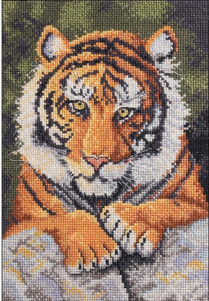 Plaid / Bucilla - Benji Tiger