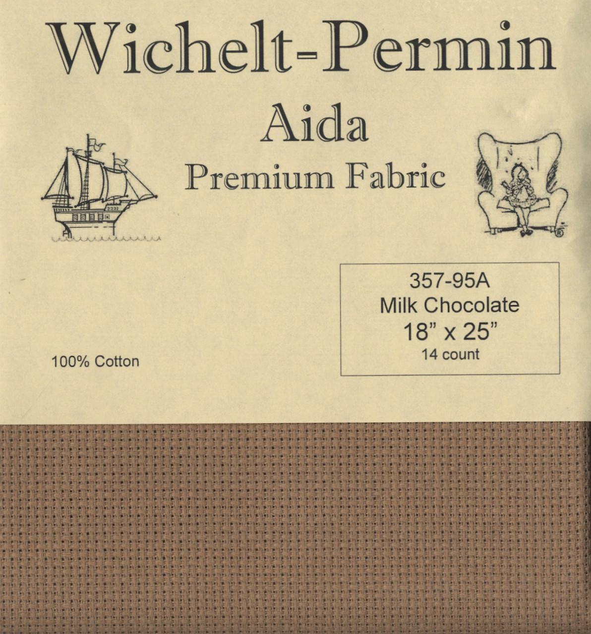 Wichelt - 14 Ct Milk Chocolate Aida 18 x 25 in