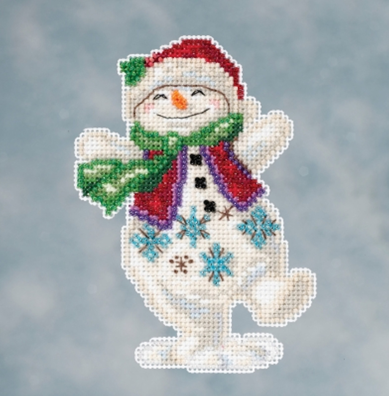 Mill Hill 2016 Jim Shore Winter Series - Snowman Dancing