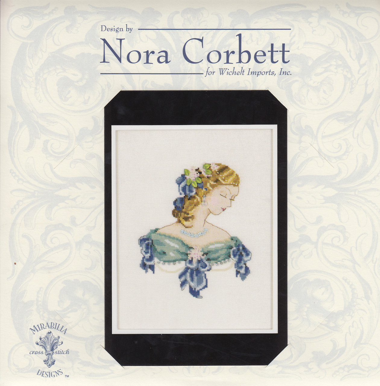 Nora Corbett - Portrait of Lauren in Blue
