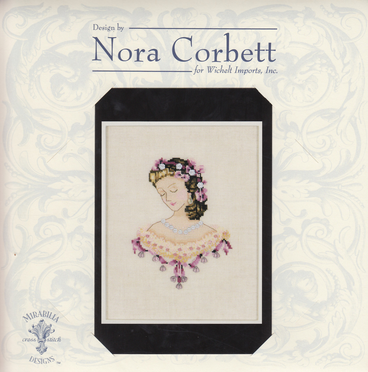 Nora Corbett - Portrait of Caroline in Pink