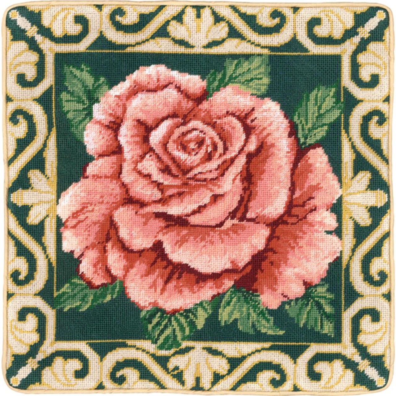 Candamar - Tradition Rose Pillow or Picture