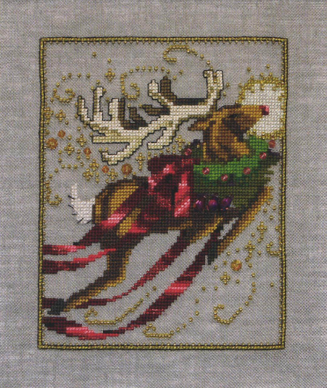 Nora Corbett Embellishment Pack - Rudolph