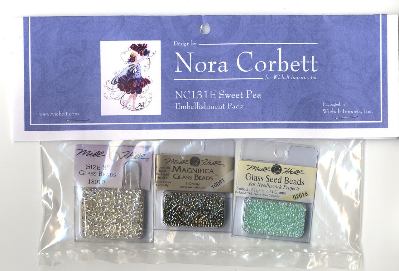 Nora Corbett Embellishment Pack - Sweet Pea